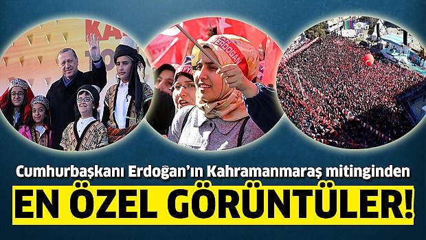 Cumhurbaşkanı Erdoğan Kahramanmaraş'ta Başkanlık için meydanlarda