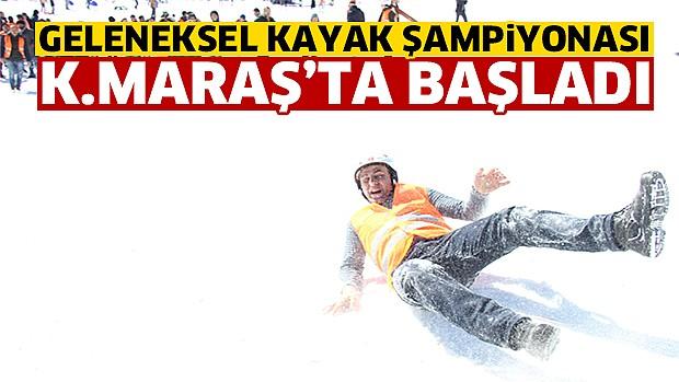 Kahramanmaraş'ta Atlı Kızak ve Kızak Türkiye Şampiyonası