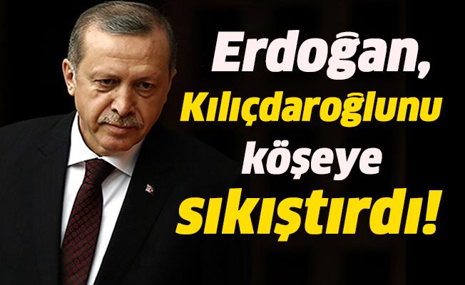 Erdoğan, Kılıçdaroğlu'nu köşeye sıkıştırdı!