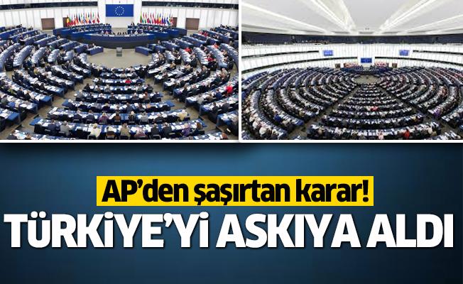 AP'den şaşırtan karar! Türkiye'yi askıya aldı.