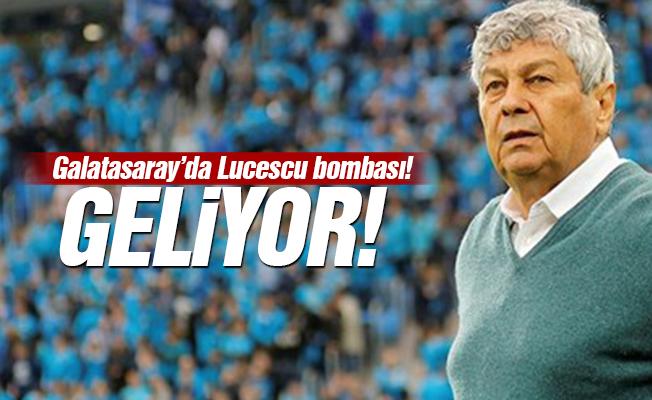 Galatasaray'da Lucescu bombası!