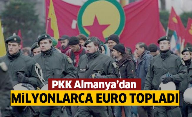 PKK Almanya'dan13 milyon Euro topladı