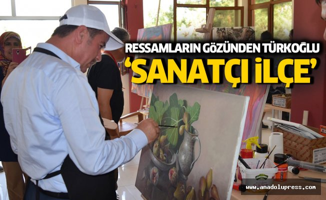 Rutin Belediyeciliğin dışında bir ilçe! Sanatçı kimliğiyle Türkoğlu