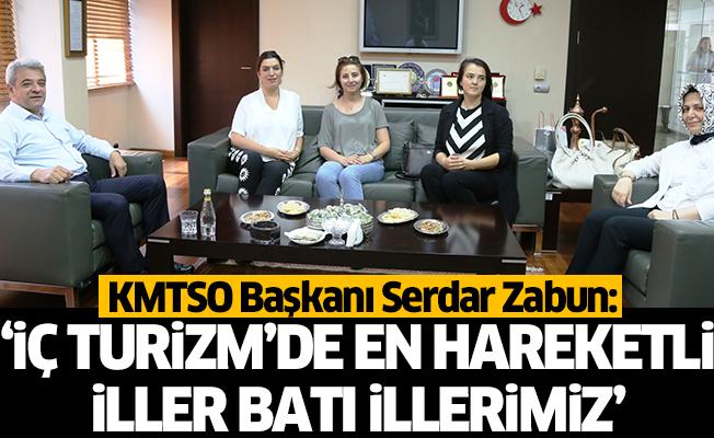 """Serdar Zabun: """"iç turizmde en hareketli iller batı illerimiz."""""""
