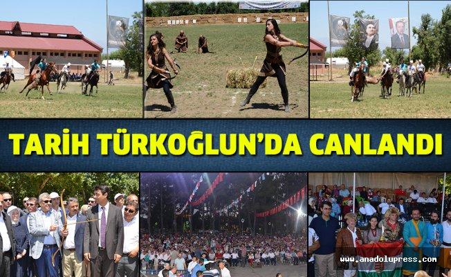 Tarih Türkoğlu'nda canlandı