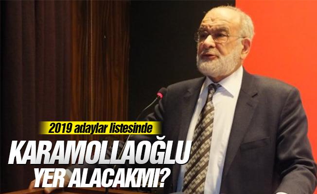 2019'da adaylar listesinde Karamollaoğlu yer alacakmı?