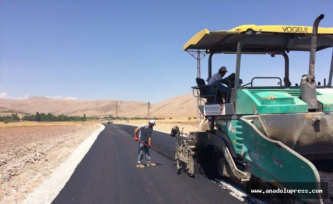 Arıtaş-Göllüce Yolu'nda asfalt çalışmaları sona erdi