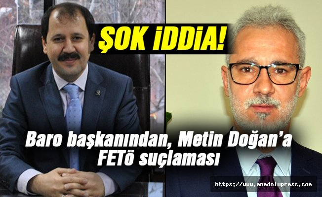 Baro başkanından Metin Doğan'a şok iddia!