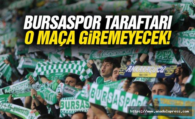 Bursasporlu Taraftarlar, Beşiktaş Maçında Olmayacak