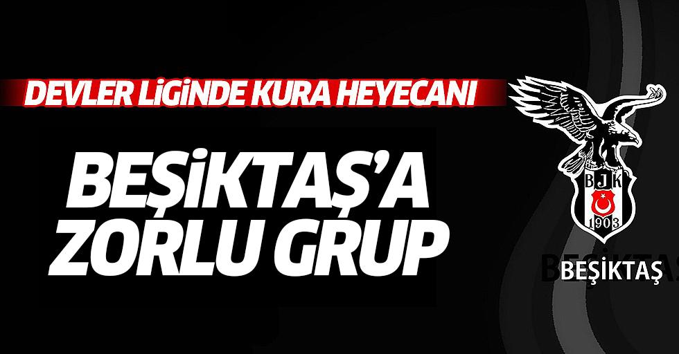 Devler liginde kura heyecanı! Beşiktaş'a zorlu grup
