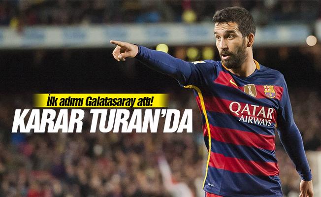 İlk adımı Galatasaray attı! Karar Turan'da