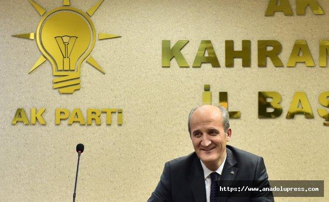 Okay; Türkiye Ak Partinin ışığıyla aydınlandı