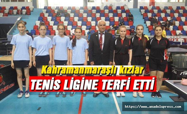 Tenis Ligine terfi ettiler