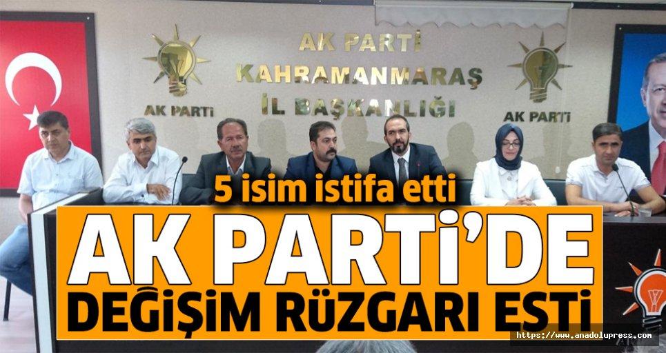 Ak Parti'de değişim rüzgarı esti