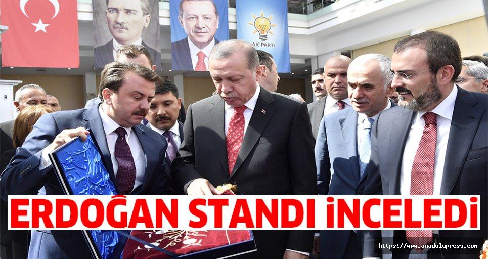 Erdoğan Kahramanmaraş Standını inceledi