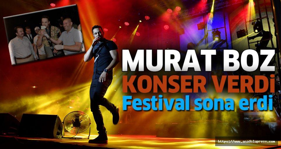 Murat Boz konseriyle festival sona erdi