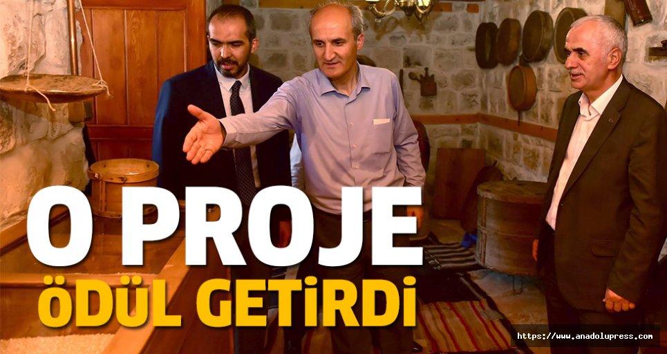O proje, Dulkadiroğluna ödül getirdi