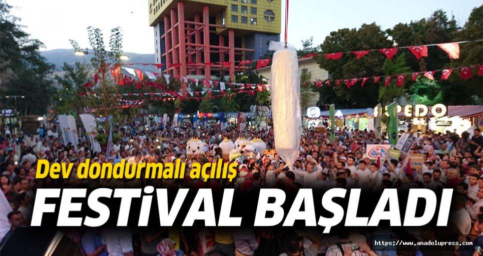 Uluslararası dondurma festivali başladı