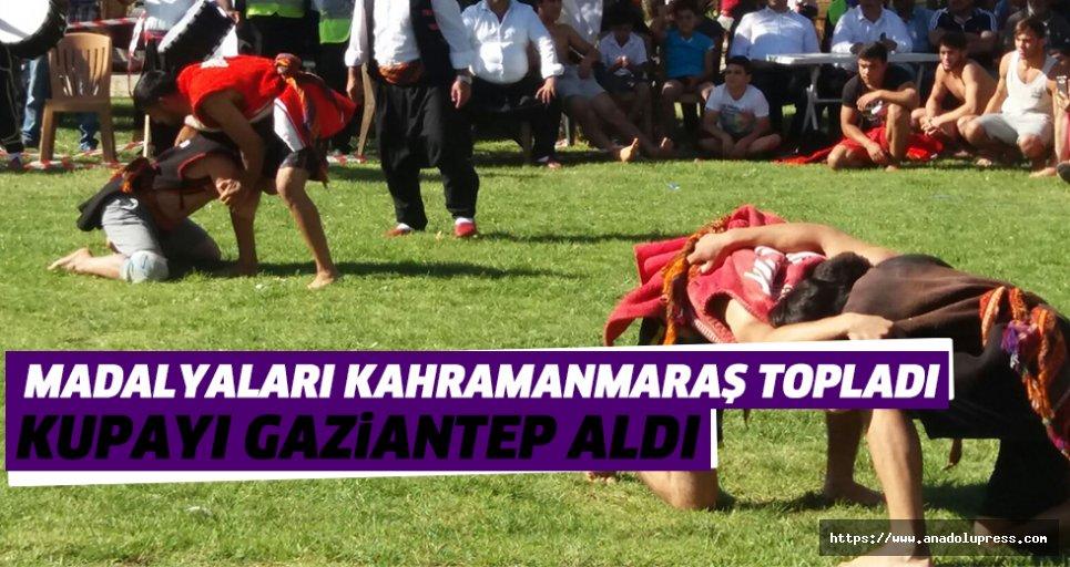 Kahramanmaraş madalyaları topladı, kupayı Gaziantep aldı
