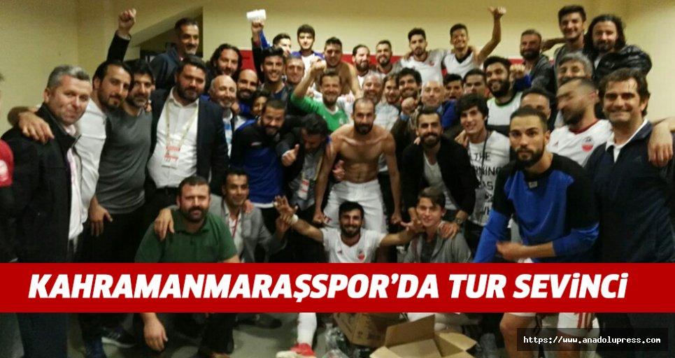 Kahramanmaraşspor kupa'da tur atladı