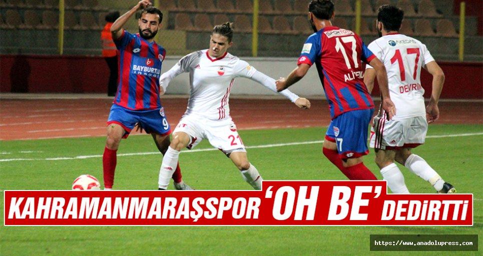 Kahramanmaraşspor 'Oh be' dedirtti