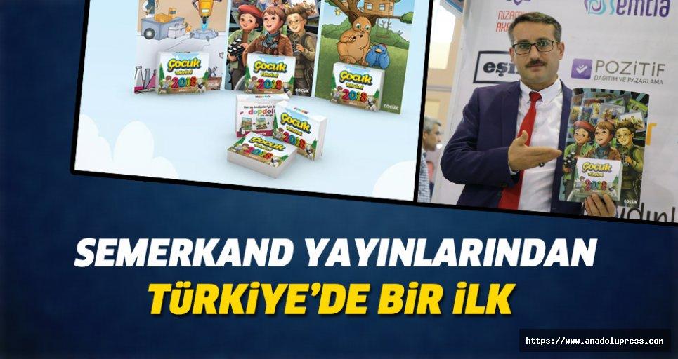 Semerkand yayınlarından Türkiye'de bir ilk
