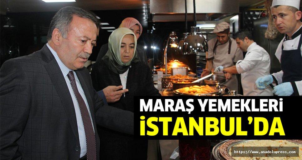Maraş yemekleri İstanbul'da