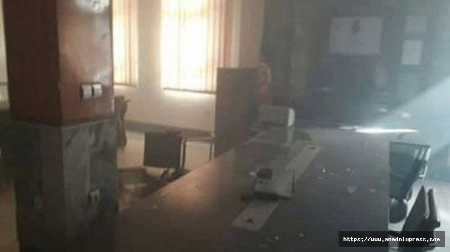 Afganistan'da haber ajansında patlama