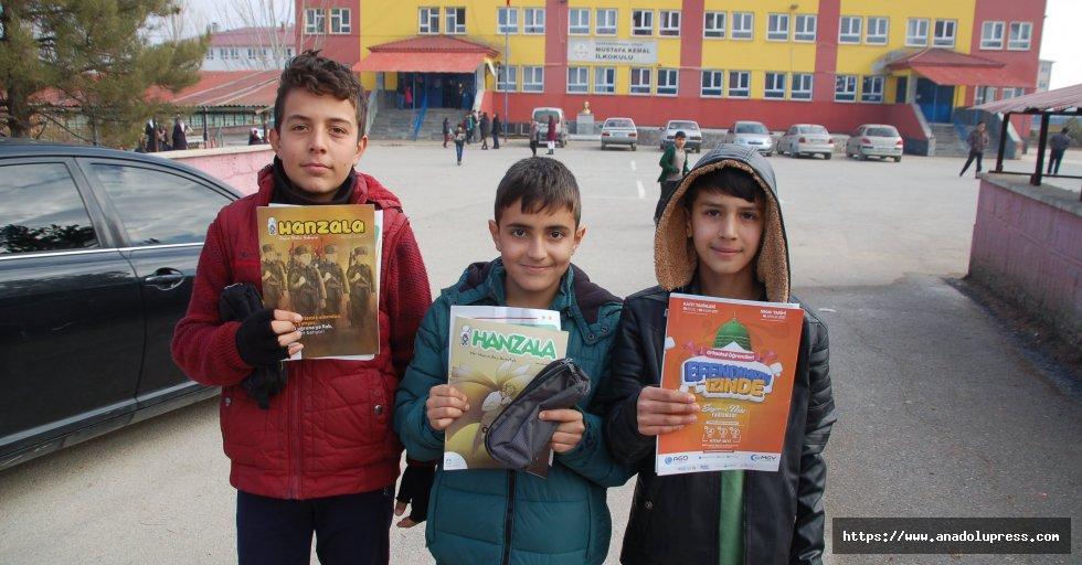 Afşin'de Siyer-i Nebi sınavı yapıldı