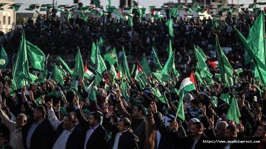 """Hamas'tan """"Kudüsiçin öfke cuması"""" çağrısı"""