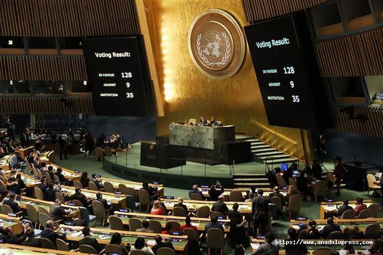 İşte BM'den çıkan sonuç!