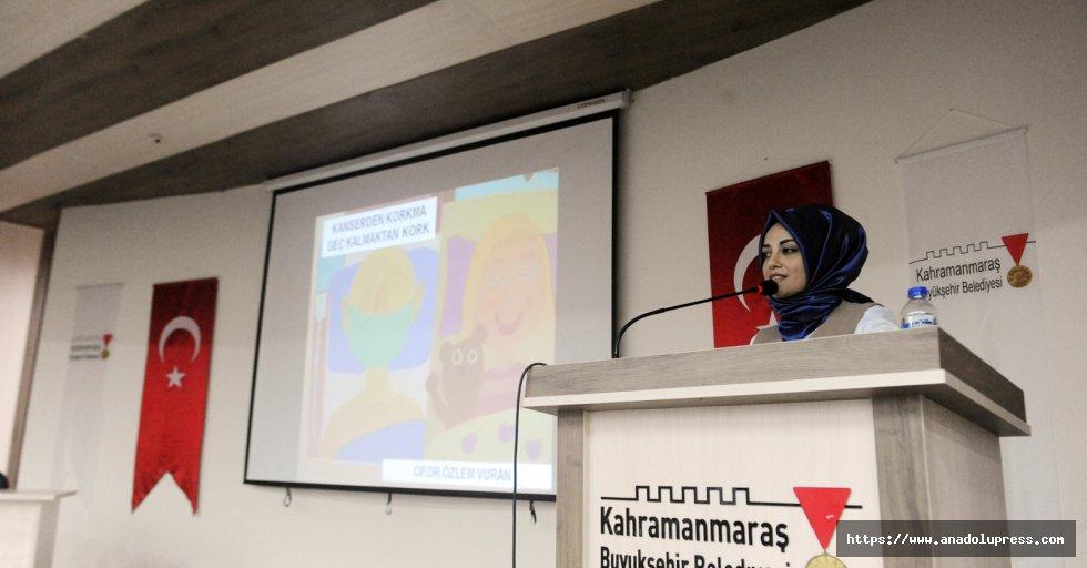 Kanserden korunma konferansı
