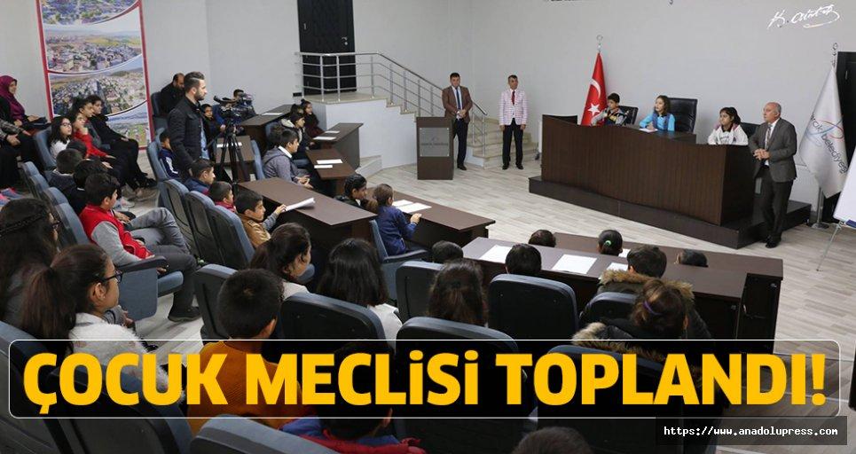 Pazarcık Belediyesi Çocuk Meclisi İkinci Kez Toplandı