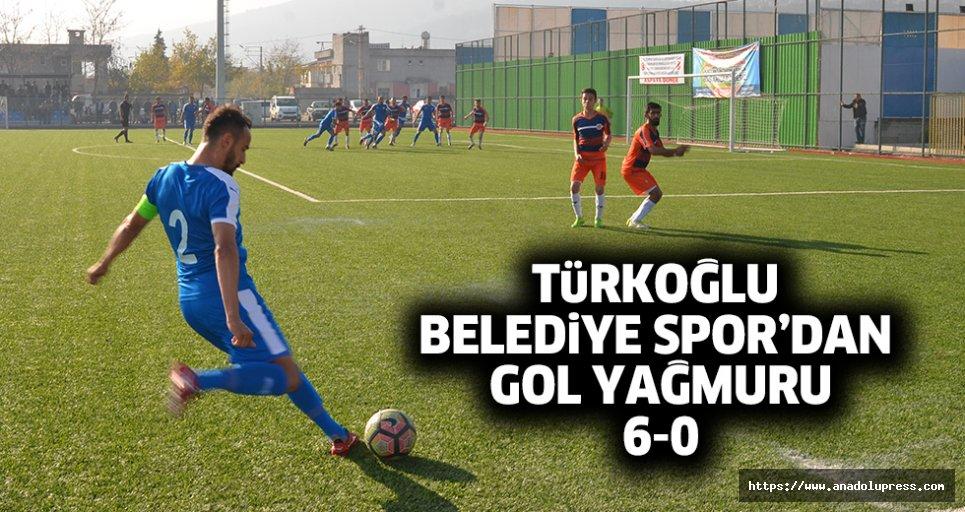 Türkoğlu Belediyespor gol oldu yağtı!