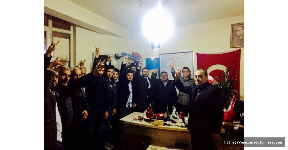 Ülkü Ocakları Türkmenleri ziyarete etti!