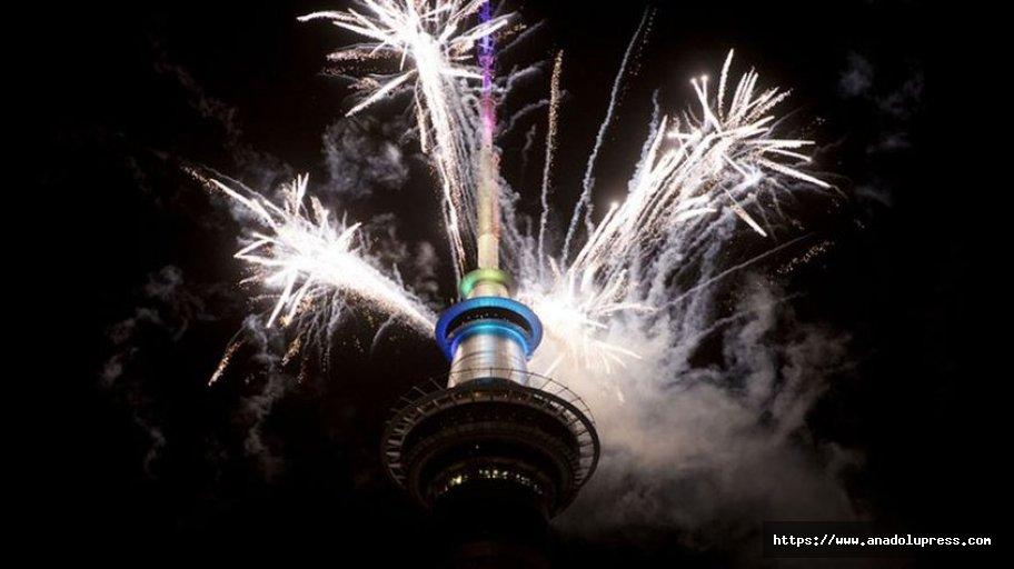 Yeni Zelanda yeni yıla girdi!