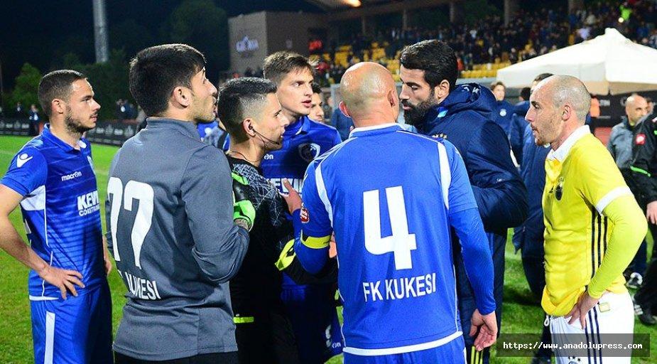 Fenerbahçe maçında gerginlik!