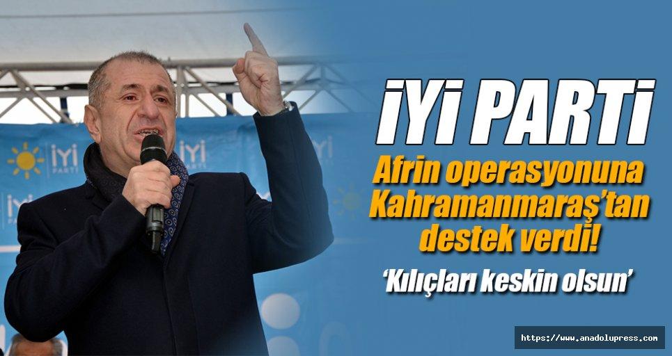 Ümit Özdağ, Kahramanmaraş'ta