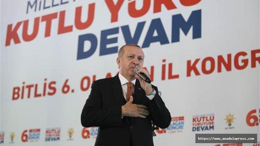 Erdoğan'dan Avrupa parlamentosu'na sert sözler!