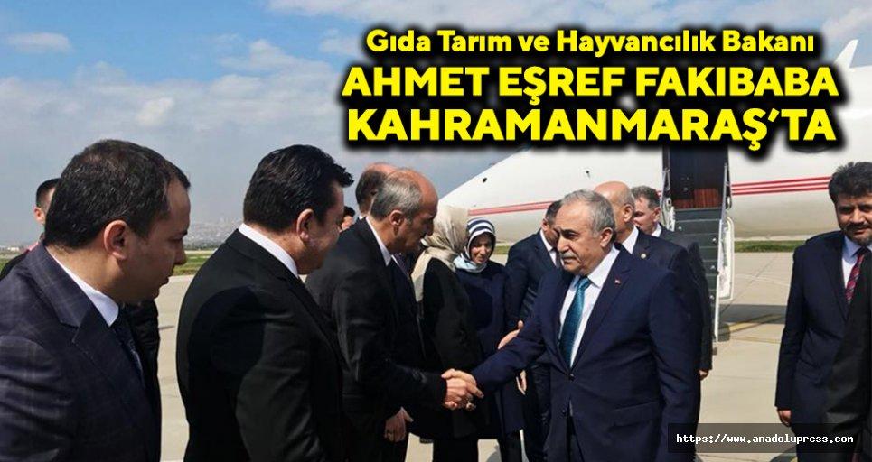 Bakan Fakıbaba, Kahramanmaraş'ta!