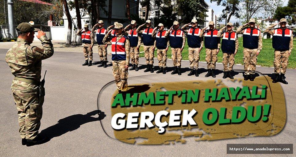 Başkan Okumuş, Ahmet Can'ın Hayalini Gerçekleştirdi