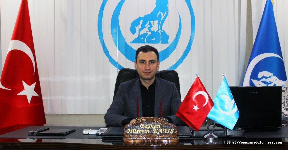Hüseyin Kayış'tan, 12 Mart İstiklal Marşı'nın Kabulü ve Mehmet Akif Ersoy'u Anma Günü mesajı