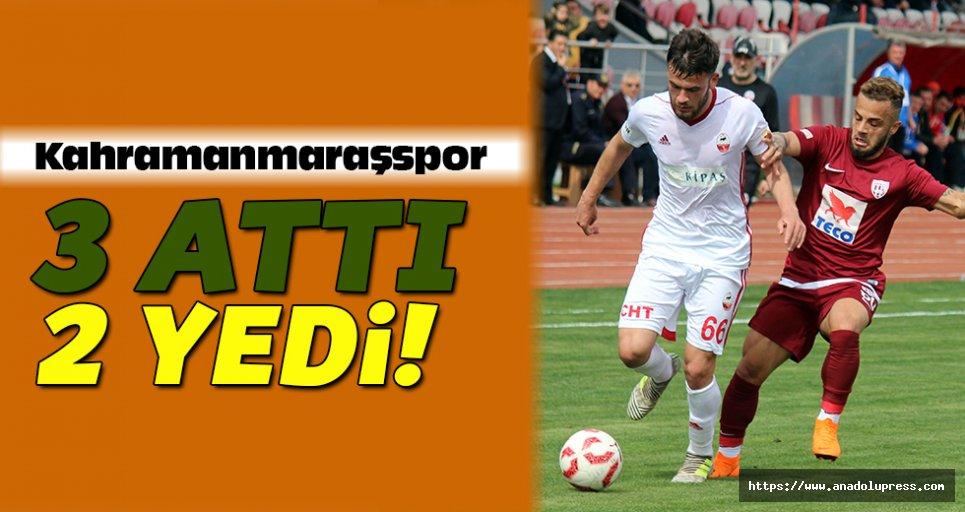 Kahramanmaraşspor 3 attı, 2 yedi!