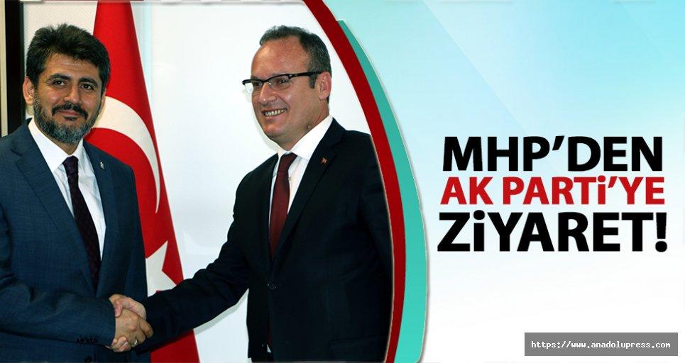 MHP'den AK Partiye ziyaret!