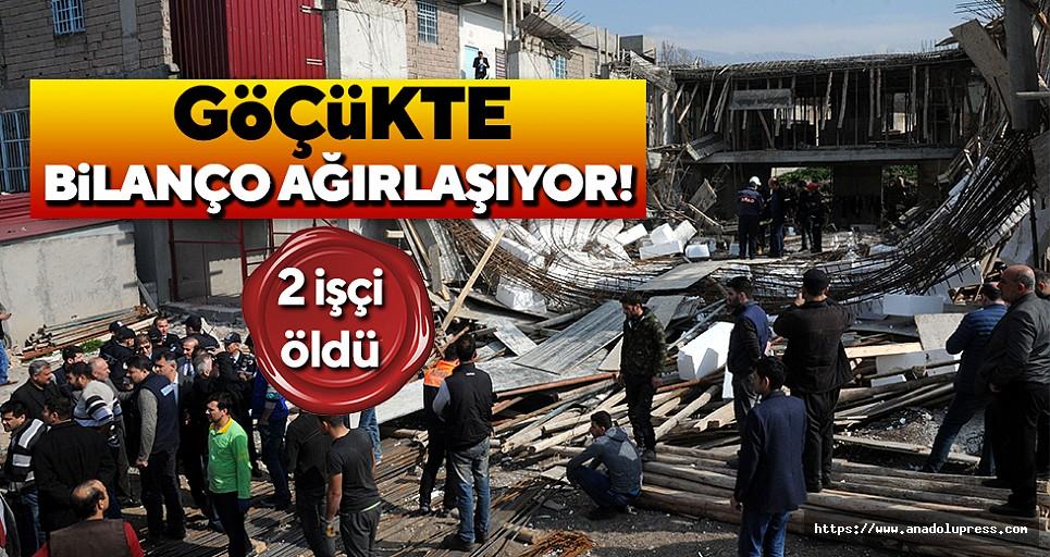 Yaralı işçilerden 2'si hayatını kaybetti!