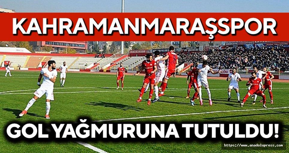 Kahramanmaraşspor, gol yağmuruna tutuldu!
