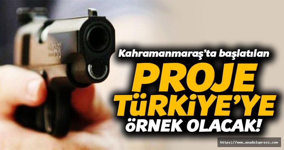 Kahramanmaraş'ta başlatılan proje Türkiye'ye örnek olacak!