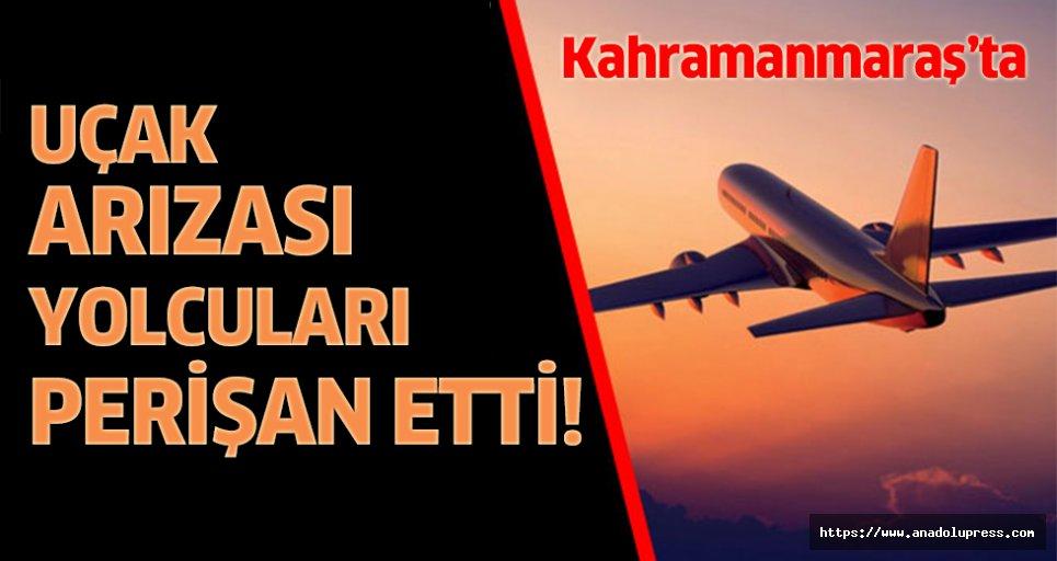 Uçak arıza yaptı, vatandaşlar mağdur edildi!