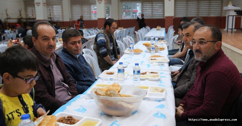 Afşin Belediyesinin Gönül Sofrası İlk Misafirlerini Ağırladı