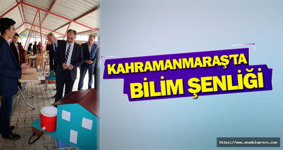 """Kahramanmaraş'ta """"Bilim Şenliği"""""""